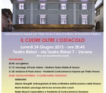 Confcommercio Verona – Il Cuore Oltre L'Ostacolo