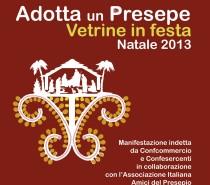 """Manifestazione vetrinistica """"Adotta un Presepe"""" – Itinerario dei Presepi"""
