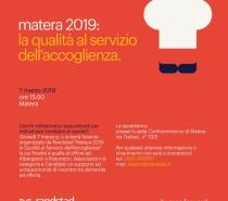 Confcommercio della Provincia di Matera e Randstad Italia SpA, opportunità di incontro tra domanda ed offerta di lavoro
