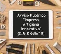 "Avviso Pubblico ""Impresa artigiana innovativa""- SCORRIMENTO GRADUATORIA"